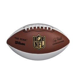 Category: Dropship No Teams, SKU #2638874018, Title: Football Wilson 3 White Panel NFL Goodell Special Order