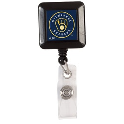 Milwaukee Brewers Badge Holder Retractable Special Order