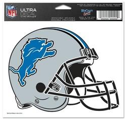 Detroit Lions Decal 5x6 Multi Use Color