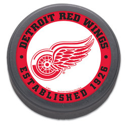 Detroit Red Wings Hockey Puck - Packaged - Est. 1926