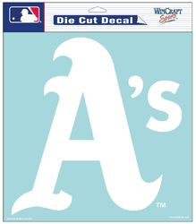 Oakland Athletics Decal 8x8 Die Cut