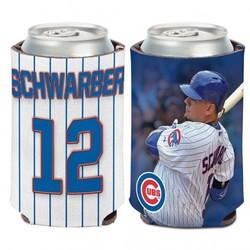 Chicago Cubs Can Cooler Kyle Schwarber Design Special Order