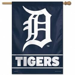 Detroit Tigers Banner 28x40 Vertical Special Order