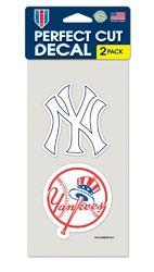 New York Yankees Set of 2 Die Cut Decals
