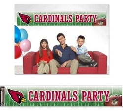 Arizona Cardinals Banner 12x65 Party Style