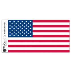American Flag Decal 3x12 Bumper Strip Style