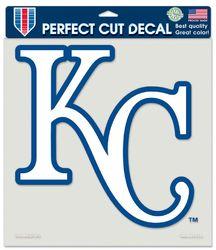 Kansas City Royals Decal 8x8 Die Cut Color