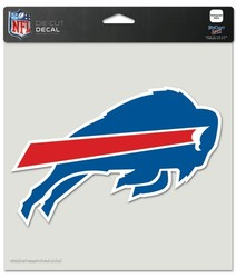 Buffalo Bills Decal 8x8 Die Cut Color