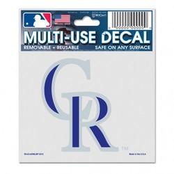 Colorado Rockies Decal 3x4 Multi Use