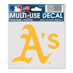 Oakland Athletics Decal 3x4 Multi Use