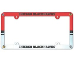 Chicago Blackhawks License Plate Frame - Full Color
