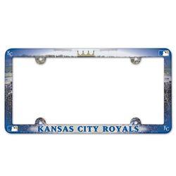 Kansas City Royals License Plate Frame - Full Color