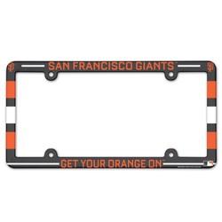 San Francisco Giants License Plate Frame - Full Color