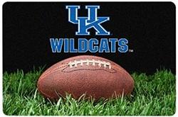 Kentucky Wildcats Classic Football Pet Bowl Mat - L -