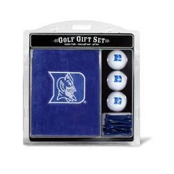 Duke Blue Devils Golf Gift Set with Embroidered Towel Special Order