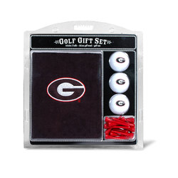 Georgia Bulldogs Golf Gift Set with Embroidered Towel - Special Order