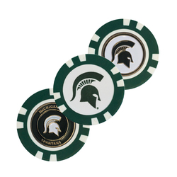 Michigan State Spartans Golf Chip with Marker - Bulk
