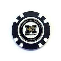 Missouri Tigers Golf Chip with Marker - Bulk