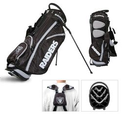Category: Dropship Sports Fan Gifts, SKU #3755632128, Title: Las Vegas Raiders Golf Stand Bag - Special Order