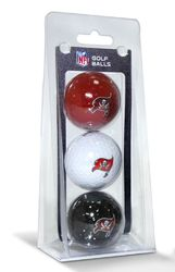 Tampa Bay Buccaneers 3 Pack of Golf Balls Special Order