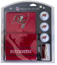 Tampa Bay Buccaneers Golf Gift Set with Embroidered Towel - Special Order