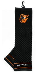 """Baltimore Orioles 16""""x22"""" Embroidered Golf Towel"""
