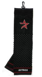 """Houston Astros 16""""x22"""" Embroidered Golf Towel"""