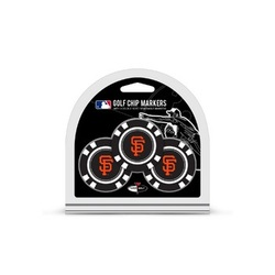 San Francisco Giants Golf Chip with Marker 3 Pack