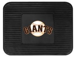 San Francisco Giants Car Mat Heavy Duty Vinyl Rear Seat