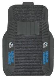 Carolina Panthers Car Mats - Deluxe Set