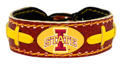 Iowa State Cyclones Bracelet - Team Color Football