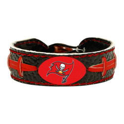 Tampa Bay Buccaneers Bracelet Team Color Football Alternate