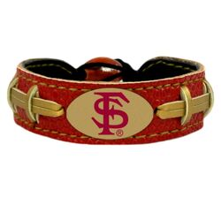 Florida State Seminoles Bracelet Team Color Football Seminole Head Logo