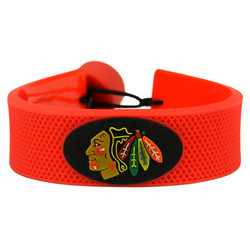 Chicago Blackhawks Bracelet Team Color Hockey