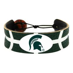 Michigan State Spartans Bracelet Team Color Basketball