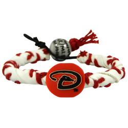 Arizona DiamondBacks Classic Frozen Rope Baseball Bracelet
