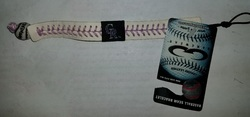 Colorado Rockies Bracelet Genuine Baseball