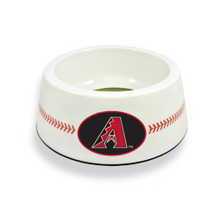 Arizona Diamondbacks Classic Baseball Pet Bowl