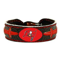 Tampa Bay Buccaneers Bracelet Team Color Football