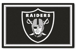 Category: Dropship Sports Fan Gifts, SKU #4610406597, Title: Las Vegas Raiders Area Rug - 5'x8' - Special Order