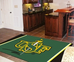 Category: Dropship Sports Fan Gifts, SKU #4610406816, Title: San Francisco Dons Area Rug - 5'x8' Special Order