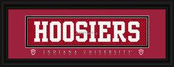 Indiana Hoosiers Stitched Uniform Slogan Print - Hoosiers