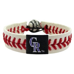 Colorado Rockies Bracelet Classic Baseball