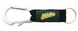 Oakland Athletics Carabiner Keychain Special Order
