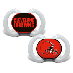 Cleveland Browns Pacifier 2 Pack Alternate