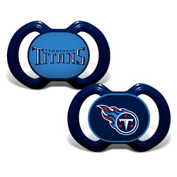 Tennessee Titans Pacifier 2 Pack