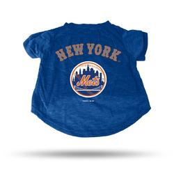New York Mets Pet Tee Shirt Size L