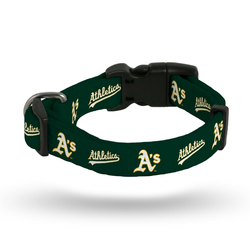 Oakland Athletics Pet Collar Size M