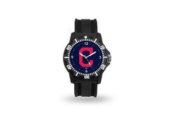 Cleveland Indians Watch Men's Model 3 Style with Black Band