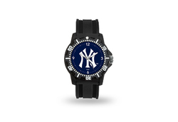 New York Yankees Watch Men's Model 3 Style with Black Band